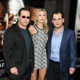 Stephen Baldwin y su hija en el estreno de 'After Earth' en Nueva York