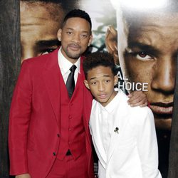 Will Smith y Jaden Smith en el estreno de 'After Earth' en Nueva York