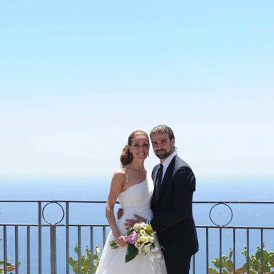 La foto de la boda de Raquel Sánchez Silva y Mario Biondo en Sicilia