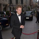 El Príncipe Harry en una gala benéfica en Londres