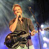 Pablo Alborán celebrando su 24 cumpleaños con un concierto en Cáceres