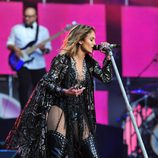 Jennifer Lopez en el The Sound of Change Live en el Twickenham Stadium de Londres