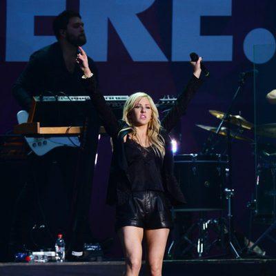 Ellie Goulding en The Sound of Change Live en el Twickenham Stadium de Londres