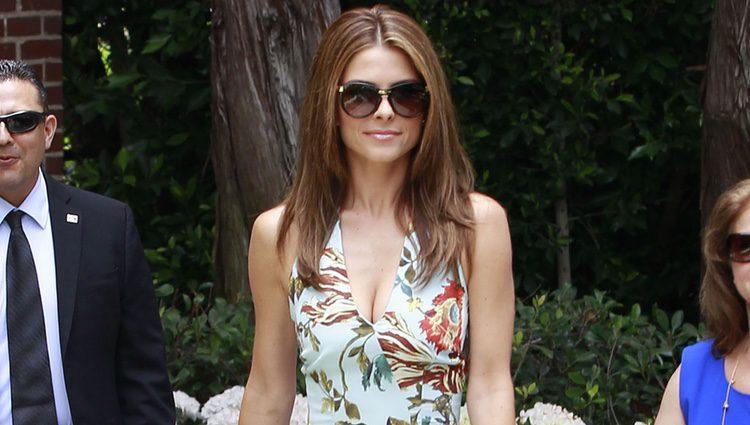 Maria Menounos acude al Baby Shower de Kim Kardashian en Beverly Hills