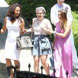 Kelly Osbourne y Mel B acuden al Baby Shower de Kim Kardashian en Beverly Hills