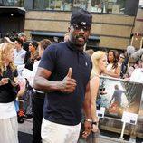 Idris Elba en la premiere de 'Guerra Mundial Z' en Londres