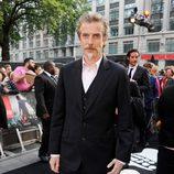 Peter Capaldi en la premiere de 'Guerra Mundial Z' en Londres