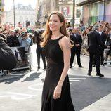 Angelina Jolie en la premiere de 'Guerra Mundial Z' en Londres