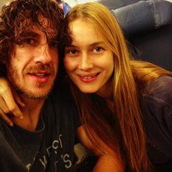 Carles Puyol y Vanesa Lorenzo se marchan de viaje
