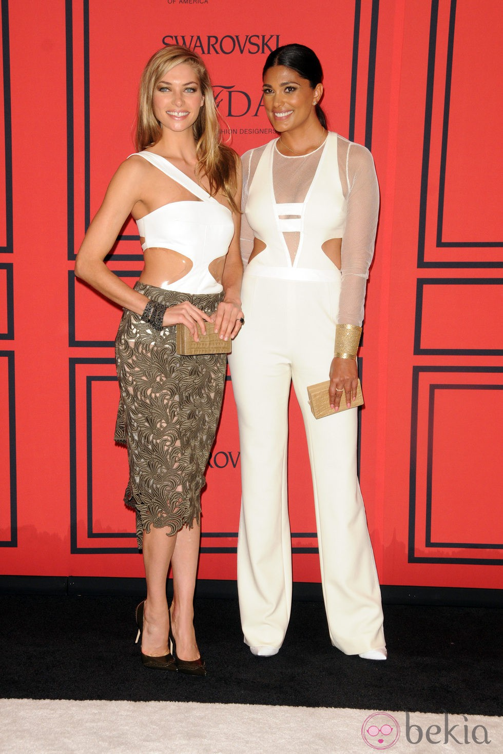 Jessica Hart y Rachel Roy en los Premios CFDA 2013
