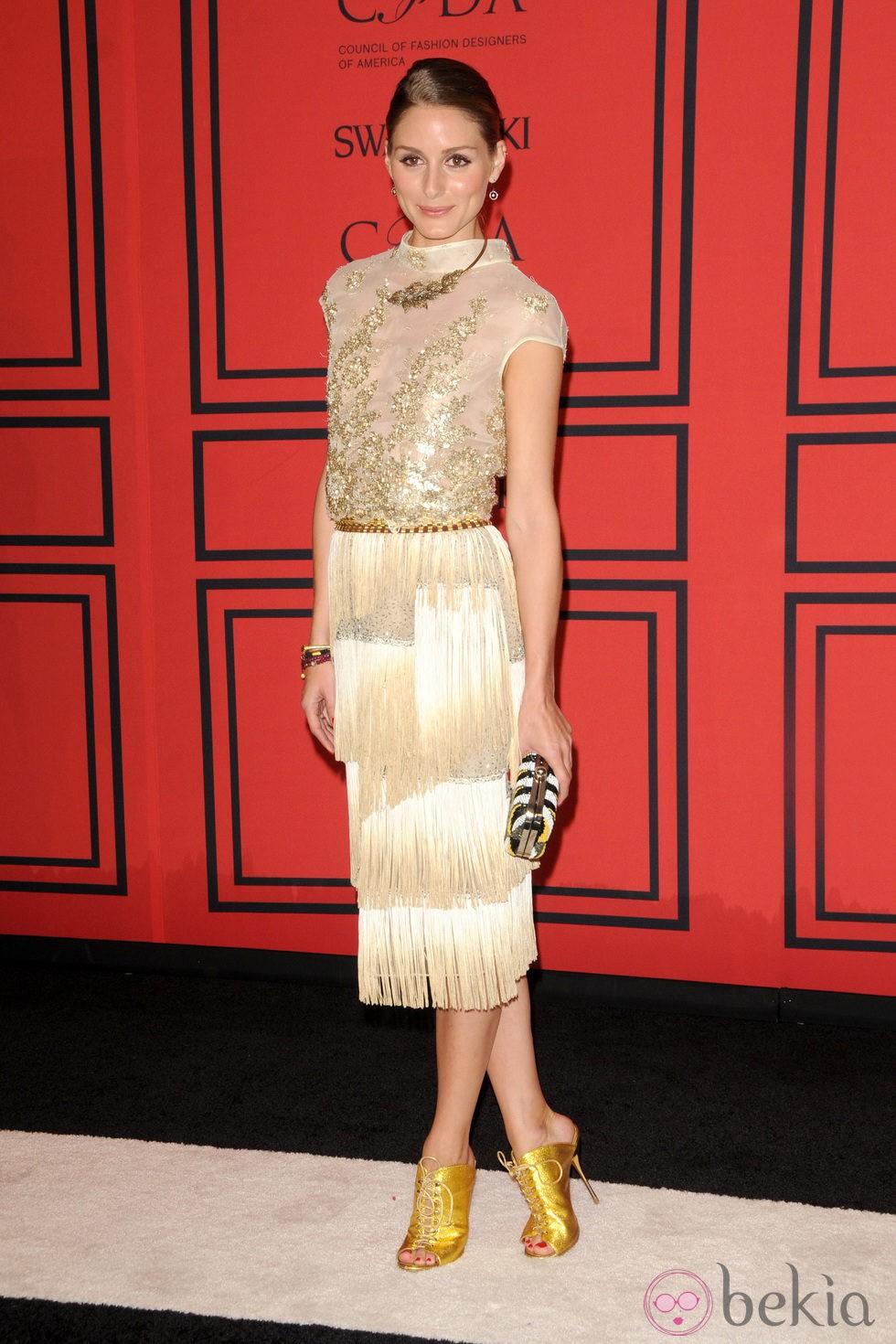 Olivia Palermo en los Premios CFDA 2013