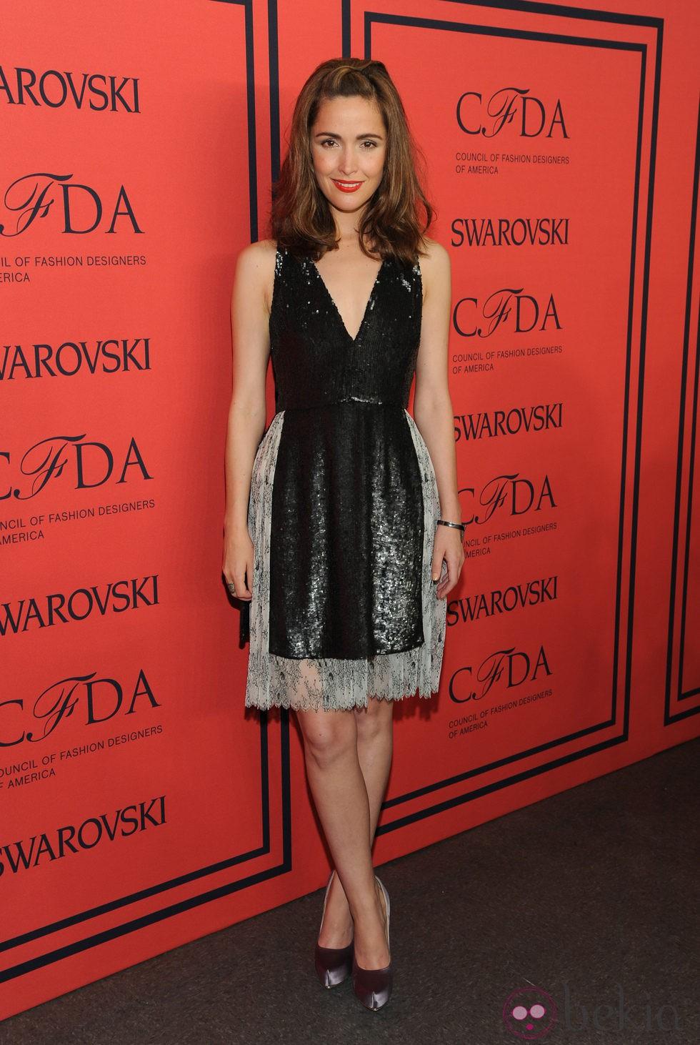 Rose Byrne en los Premios CFDA 2013