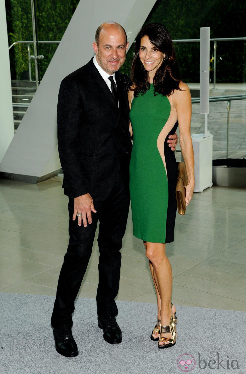 John Varvatos y Joyce Varvatos en los Premios CFDA 2013