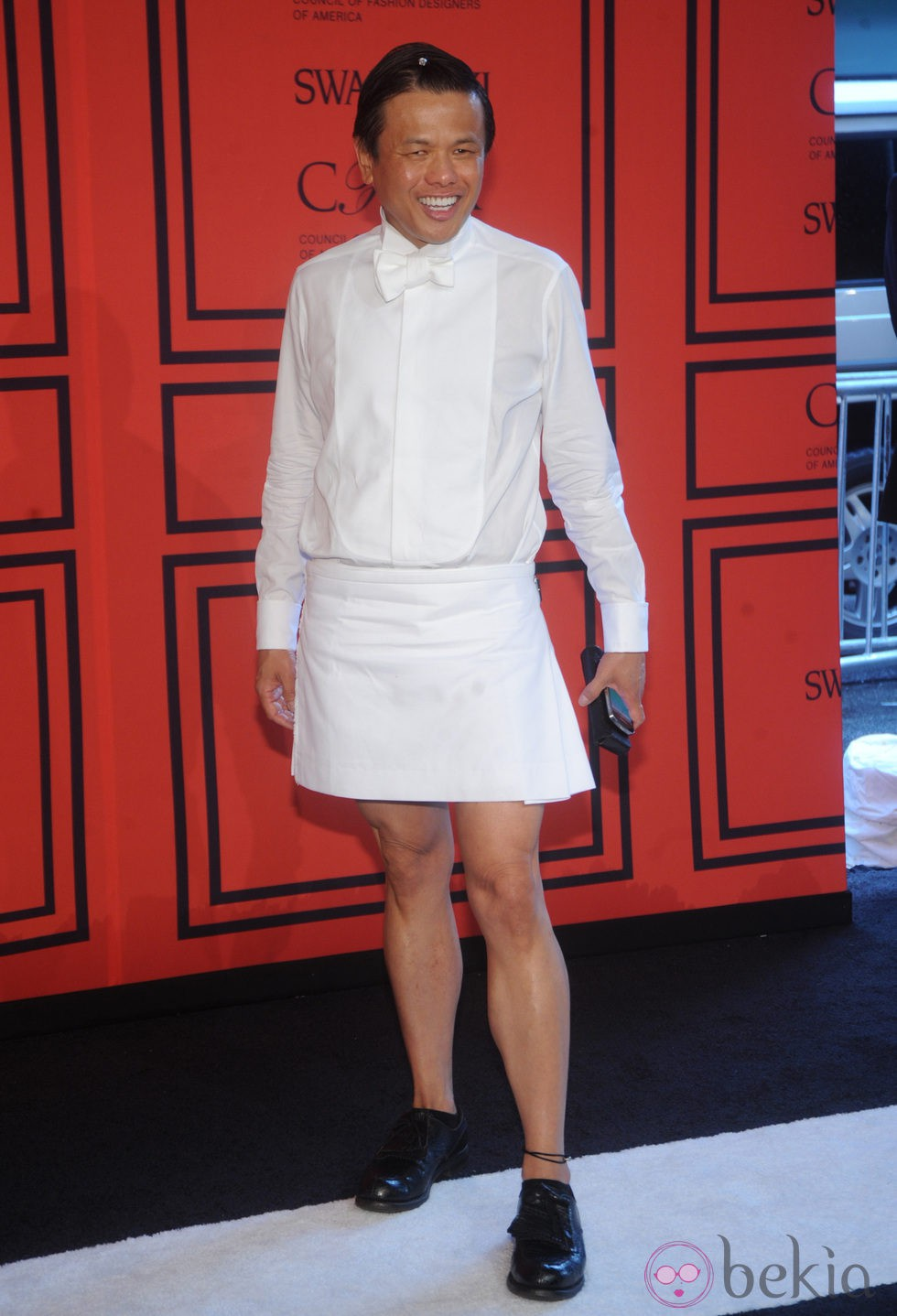 Zang Toi en los Premios CFDA 2013