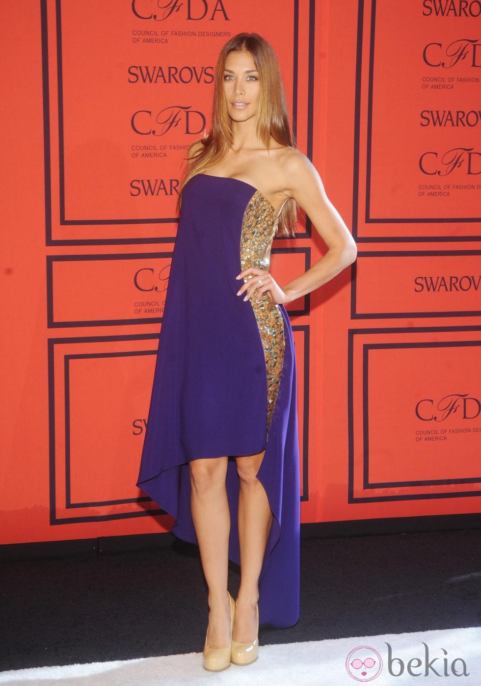 Diana Sánchez en los Premios CFDA 2013