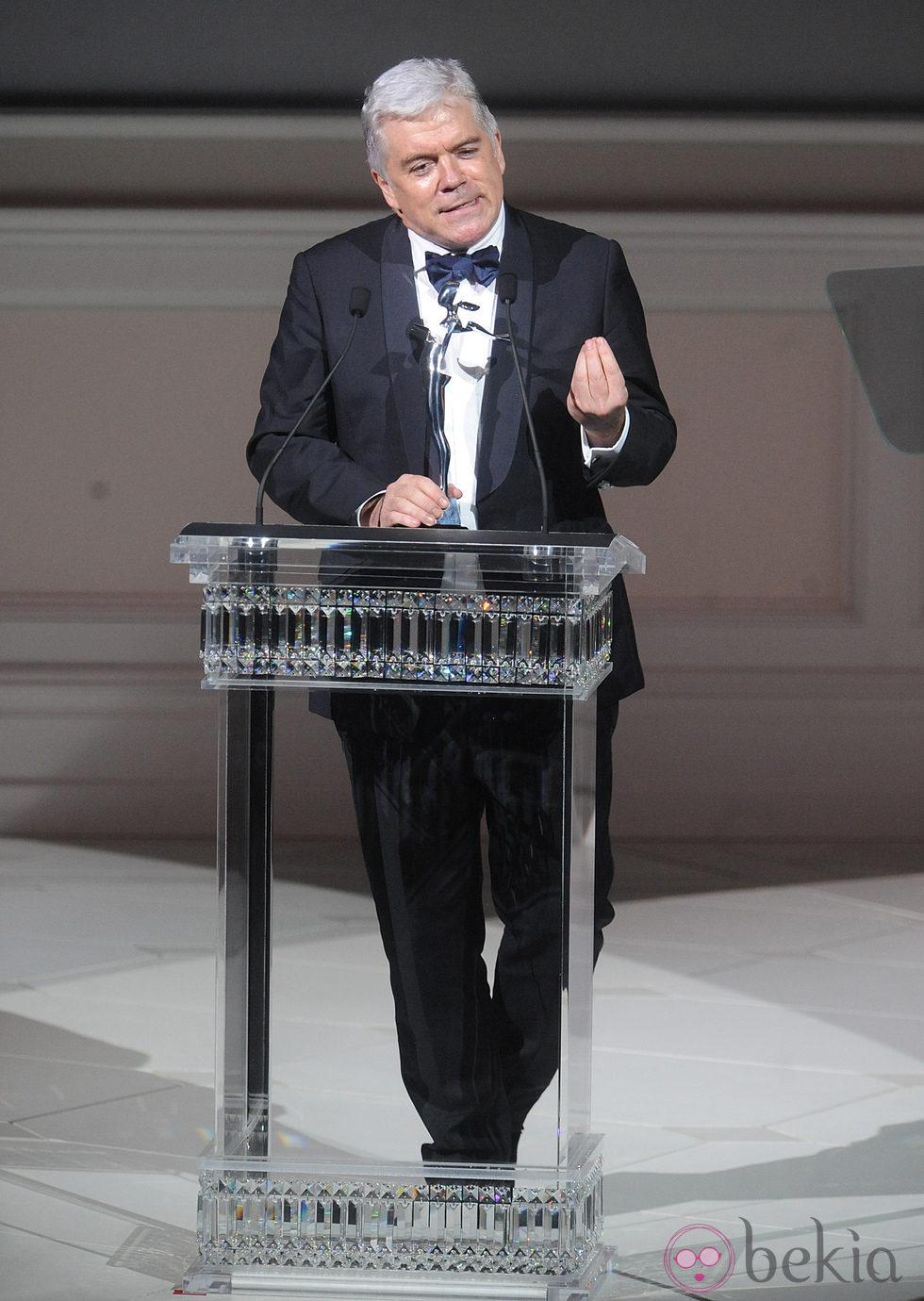 Tim Blanks en los Premios CFDA 2013