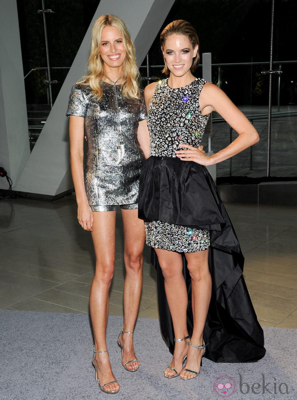 Cody Horn y Karolina Kurkova en los Premios CFDA 2013