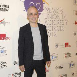 Pablo Berger en la alfombra roja de los Premios Unión de Actores 2012