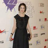 Esther Regina en la alfombra roja de los Premios Unión de Actores 2012