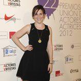 Malena Alterio en la alfombra roja de los Premios Unión de Actores 2012