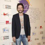 Daniel Grao en la alfombra roja de los Premios Unión de Actores 2012