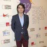 Daniel Muriel en la alfombra roja de los Premios Unión de Actores 2012