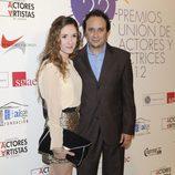Luis Callejo en la alfombra roja de los Premios Unión de Actores 2012