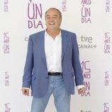 Tito Valverde en la presentación de '15 años y un día'