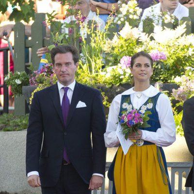 Magdalena de Suecia y Chris O'Neill en el Día Nacional de Suecia 2013