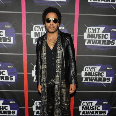 Lenny Kravitz en los CMT Awards 2013