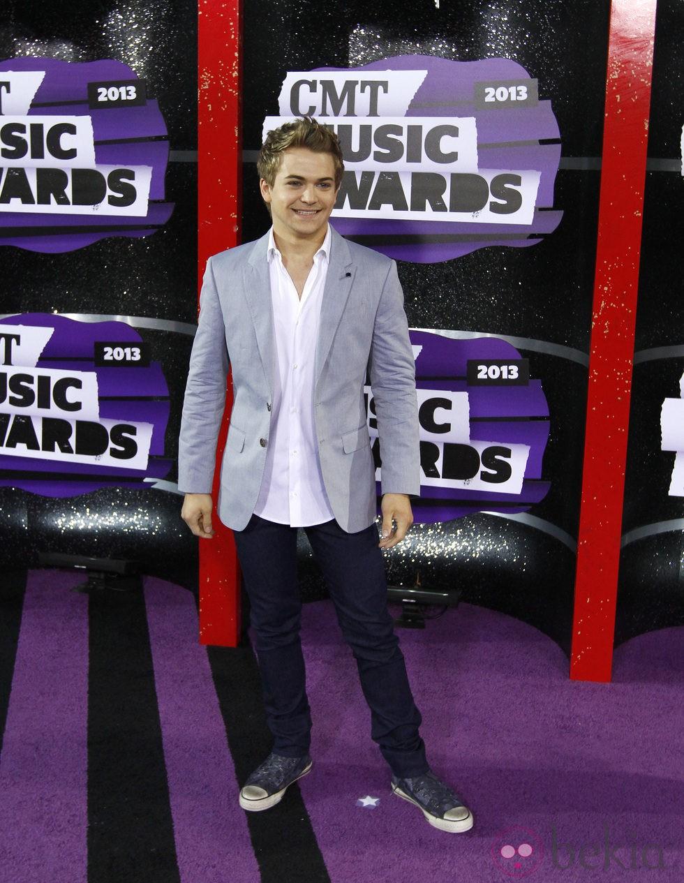 Hunter Hayes en los CMT Awards 2013