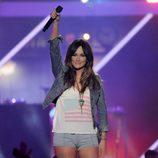 Kacey Musgraves actuando en los CMT Awards 2013