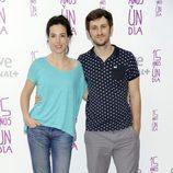 Alicia Rubio y Raúl Arévalo en el estreno de '15 años y un día'