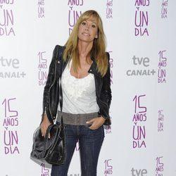 Lara Dibildos en el estreno de '15 años y un día'