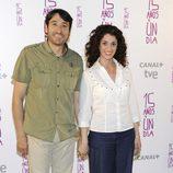 Carmelo Gómez y Ruth Gabriel en el estreno de '15 años y un día'