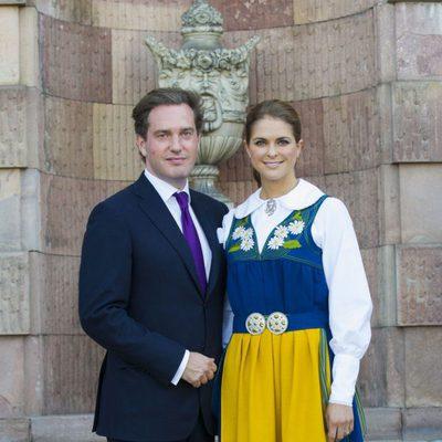Chris O'Neill y la Princesa Magdalena de Suecia