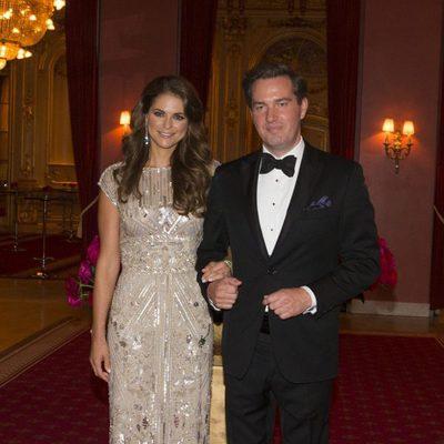 Magdalena de Suecia y Chris O'Neill en la cena previa a su boda