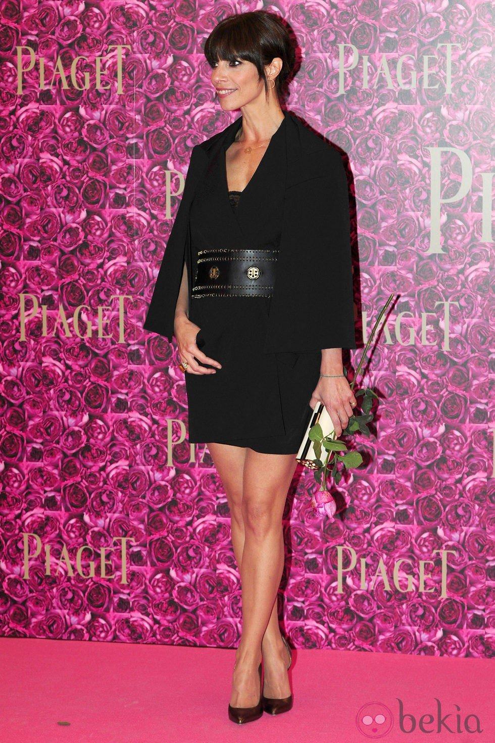 Maribel Verdú durante un acto de la firma Piaget