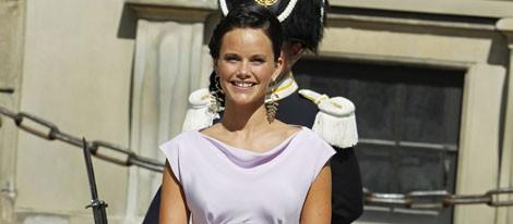Sofia Hellqvist en la boda de Magdalena de Suecia y Chris O'Neill