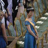 La Princesa Hisako Takamado de Japón en la boda de Magdalena de Suecia y Chris O'Neill