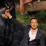 Ben Affleck recoge un premio en los Guys Choice Awards 2013