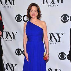 Sigourney Weaver en la gala de los premios Tony 2013