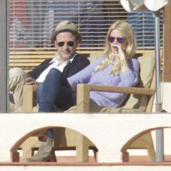 Claudia Schiffer y Matthew Vaughn, de vacaciones en Marbella