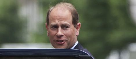 El Príncipe Eduardo visita al Duque de Edimburgo en el hospital el día de su 92 cumpleaños