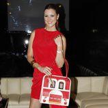 María Jesús Ruiz durante la presentación de la nueva colección de bolsos de Corttijos Housebags