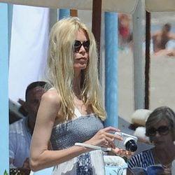 Claudia Schiffer, de vacaciones en Marbella