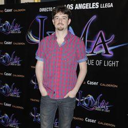 Gorka Otxoa en el estreno de 'Luma: Cirque of Light'
