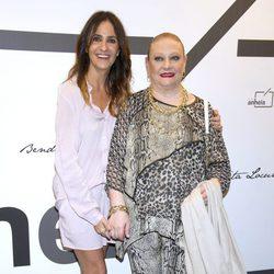 Melani Olivares y Marisol Ayuso en la presentación de la nueva colección de Bendita Locura