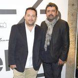 Pepón Nieto y Paco Tous en la presentación de la nueva colección de Bendita Locura