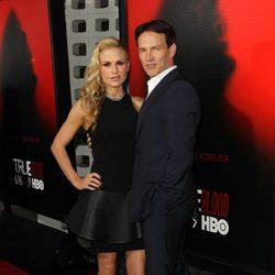 Anna Paquin y Stephen Moyer en la presentación de la sexta temporada de 'True Blood'